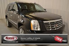 Certified Pre-Owned 2012 CADILLAC ESCALADE Luxury For Sale in Orlando near Daytona Beach, FL - TCR130254
