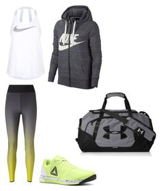 """""""casual...fit"""" by explorer-15098277769 on Polyvore featuring Ultracor, NIKE, Reebok and Under Armour"""