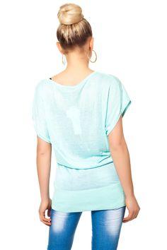 Shirt mit Schmuck Print