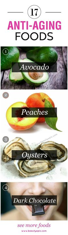 If you were not aware about this, let me tell you even foods have anti-ageing foods and its properties which helps you to be healthy as well as young.