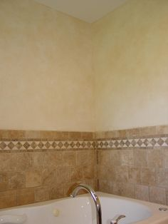 Faux Painting Techniques Can Make A Bathroom Look More Elegant This Is An Example Of