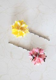 origami indie hair pins in pink    http://shopruche.com/ruchesearch/shopby/apparel/