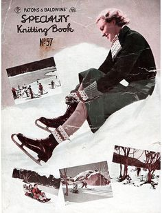 1930s Vintage Knitting Patterns for Women & Men by BessieAndMaive