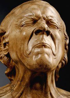 Les bustes grimaçants de douleur de Franz Xaver Messerschmidt - La boite verte