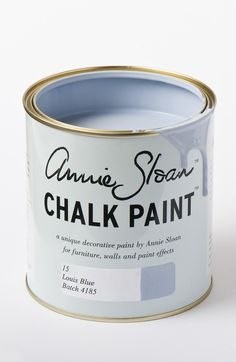 <p>Pair this clean pastel blue with white for a fine Rococo look or combine with brights for a vintage retro aesthetic.</p> <p>Available in 100ml small project pots and 1 litre tins.</p>