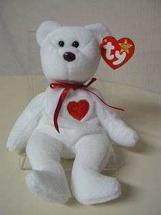 1993 Ty Valentino Beanie Baby Rare with Errors by ALEXLITTLETHINGS