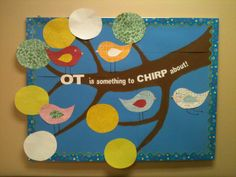 OT Bulletin Board for school OT