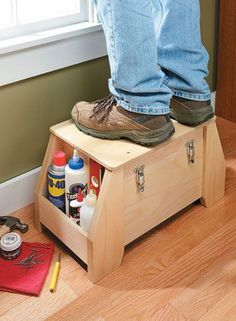Utility Tool Tote | Woodsmith Plans | Woodworking projects | Pinterest