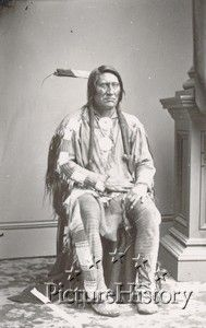 War Bonnet, Chief of the Cheyenne Native American tribe - -He died at the Sand Creek Massacre in 1864, New York City, April 1863