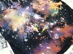 How to Make a Galaxy Shirt