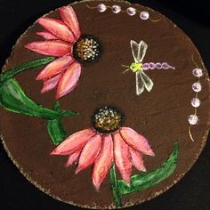 Painted Stepping Stone...By Michelle Young
