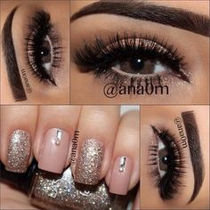 #makeup #nails #eyes