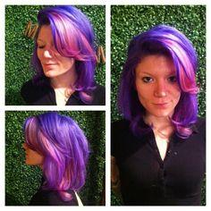 Pinky purple pretty