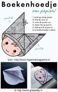Het Boekenhoedje - Fimo- en ander creatief gefröbel gezicht vervangen door een foto van het kind.....