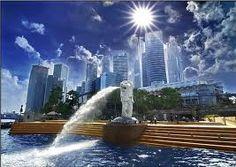 merlion park Travelogue, Singapore, Marina Bay Sands, Niagara Falls, Park, Building, Places, Nature, Pictures