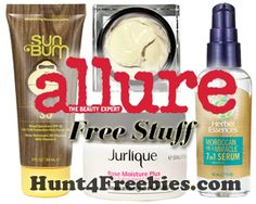 Free Full Sized Beauty Products From Allure on 7/7-7/10