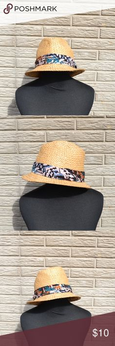 ❤️••straw sun fedora•• Never worn! Just been sitting in storage. Super cute for the beach! It's pretty stretchy   This is a Closet Clearance item! Bundle your likes of 2+ from my closet with a ❤️ in the title and offer the corresponding amount: 2 for $14 3 for $18 4 for $22 5 for $25 Check out the other clearance items in my closet and bundle up! Clearing out for incoming spring items! ASOS Accessories Hats