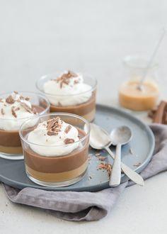Tony's salted caramel chocoladepotjes - chocolat pot de creme