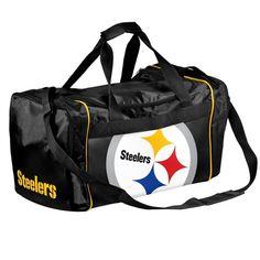 Pittsburgh Steelers Locker Room Collection Duffle Bag - Medium
