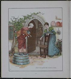 The Pied Piper of Hamelin   by by Robert Browning, Illustrated by Kate Greenaway,