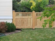 The King Board And Batten Wood Privacy Fence Pictures