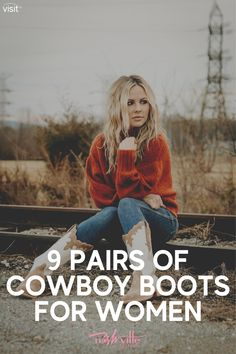 Visit this blog post to learn how to style different cowboy boot trends on Nashville Wifestyles! If you are looking for fun and awesome cowboy boots outfit ideas for women, then this is the article for you! Get inspired by this trendy style Nashville cowboy boots outfit. There's nothing more than wearing cowboy boots for women while traveling in Nashville or around Texas! Be sure to try out this cowboy boots street style looks this Spring and Summer. #cowboy #cowboyboots