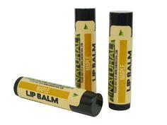 eco-friendly lip balm for the man