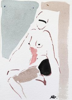 """""""Mini Nude XLVI"""" photograph by NG Collective #painting #UpriseArt"""
