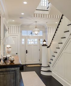 foyer | Brookes and Hill Custom Builders
