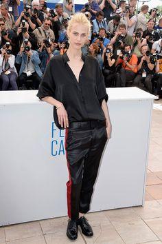 Aymeline Valade attends the Cannes Festival 2014. www.redreidinghood.com
