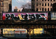 BLADE  KING OF SUBWAY ART #GRAFFITI #STREETART #BLADE