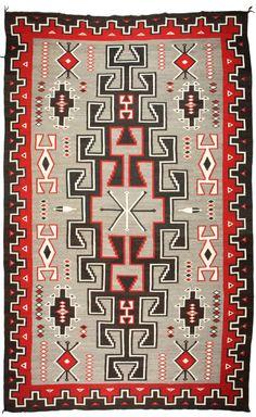 Navajo Regional Rug / Ganado/ c. 1950 http://fineart.ha.com/c/item.zx?saleNo=5105=50100