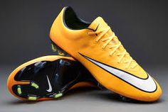 Nike Soccer Shoes - Nike Mercurial Vapor X FG - Laser Orange-White-Black -  Firm Ground - Soccer Cleats - 5ccb677bb095c