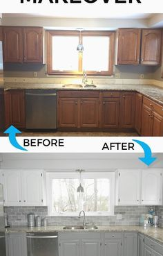 35 Beautiful Kitchen Remodel With Island – Home Renovation Diy House Renovations, Kitchen Decor, Diy Kitchen Renovation, Home Decor, Home Renovation, Diy Kitchen, Budget Kitchen Remodel, Kitchen Renovation, Kitchen Design