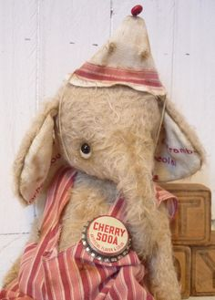Christmas SALEPOPPY  A Darling Artist Ellie by KristinaBears, $130.00