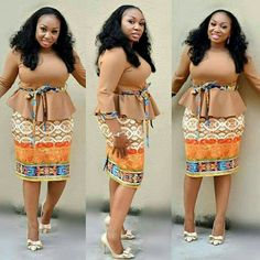 Call, SMS or WhatsApp if you want this style, needs a skilled tailor to hire or you want to expand more on your fashion business. Latest African Fashion Dresses, African Dresses For Women, African Print Fashion, African Wear, African Attire, Shweshwe Dresses, Office Dresses For Women, Classy Work Outfits, Kitenge