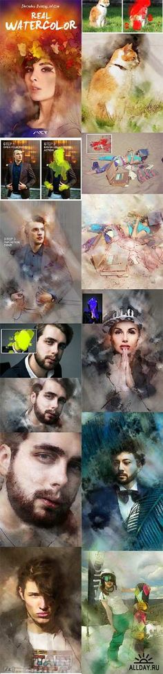 GraphicRiver - Real Watercolor Painting Photoshop Action 11044807