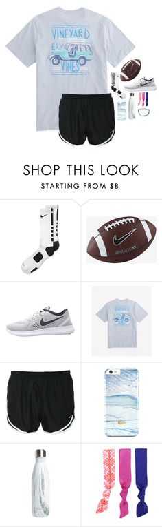 """just won powder puff!!"" by melaniebethc ❤ liked on Polyvore featuring NIKE, S'well, Splendid and Pura Vida"