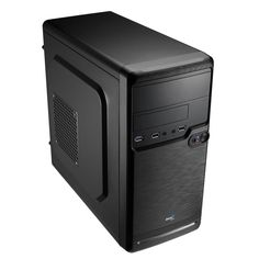 Aerocool QS 182 Case Mini Tower Micro ATX Black ventola cabinet usb 3 0 e usb 2 Usb, Master Pack, Budget Gaming Pc, Passe Cable, Mini Tour, Hanging Plates, Drive Bay, Mini Itx, Space Available