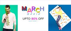 80% discount on men and women apparel at #fashionara for more offers