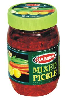 Mixed Pickle Jar