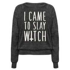This witch shirt is for all those drinking lemonade even in the fall weather, because I came to slay, witch. This halloween shirt is great for fans of pop parody, fall shirts, fall quotes, occult shirts and witches.