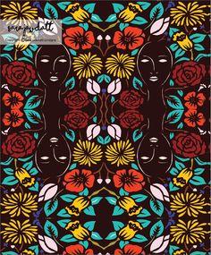 surface pattern design by sara jawdatt