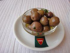 Olives en saumure faites-maison
