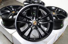 Black Wheels Rims 5x130 Porsche Cayenne Volkswagen Touareg 2004 2011