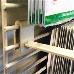 Saddle-mount Plastic Grid Hook