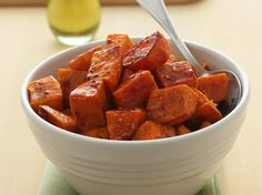 Enjoy this tasty sweet potato salad that's ready in 45 minutes – a perfect side dish.