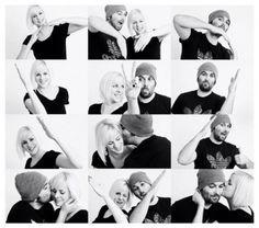 Schöne Idee wenn man ein kreatives Foto zu zweit machen möchte