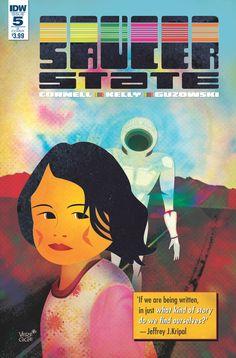 Saucer State #5 (Jeffrey Veregge variant).