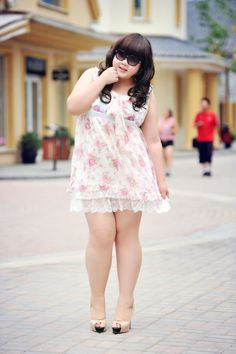 Cute J-Style dress and shoes